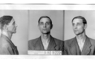 PAUKNER Karl Gestapo-Photo